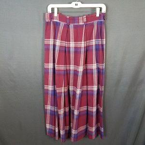 4/10- Ralph Lauren plaid skirt size 10